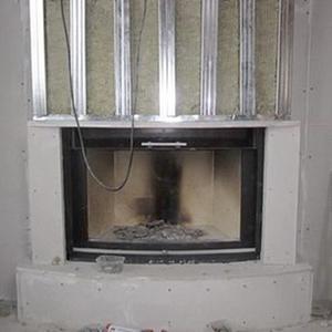 АрмПанель защищает деревянные и другие конструкции от воздействия высоких температур.